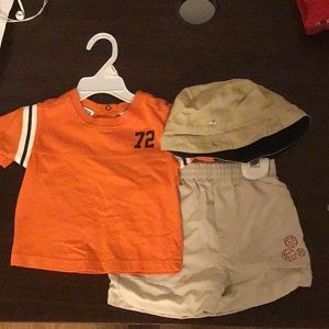 ALL MINE Baby Boy Matching Set with Hat